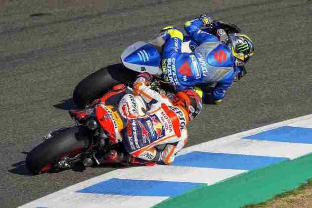 Márquez tentou, mas desistiu de correr em Jerez