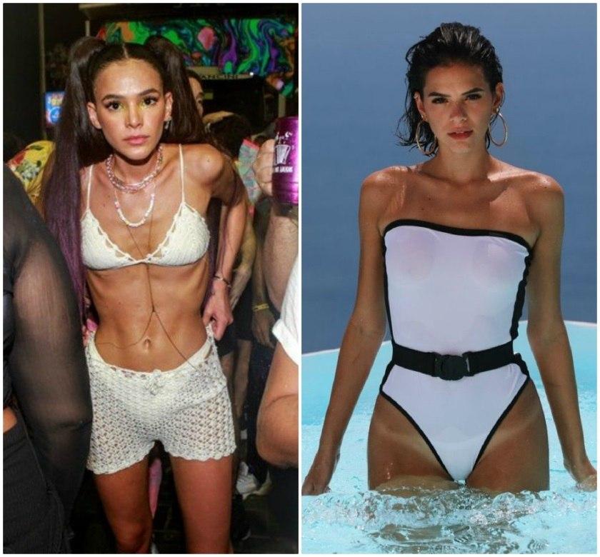 Bruna Marquezine talvez não tenha consciência do exagero da mudança corporal
