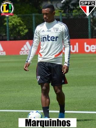 Marquinhos - 6,5 - Veloz e habilidoso, foi o jogador mais perigoso do São Paulo na partida, se envolvendo no lance de um pênalti polêmico. Deixou o campo lesionado no segundo tempo.