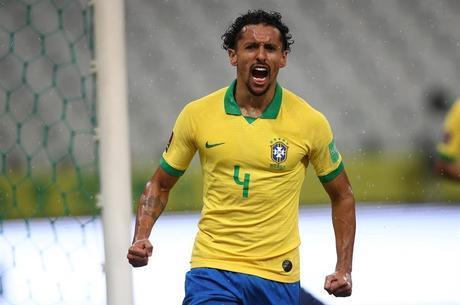 Marquinhos fez o primeiro do Brasil nas Eliminatórias