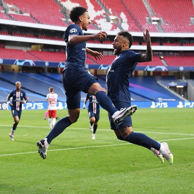 Marquinhos e Neymar fazem a festa brasileira na semifinal da Champions