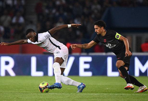 Marquinhos: novamente importante para uma vitória do PSG, o xerife foi o pilar da defesa zaga do time parisiense na vitória sobre o Montpellier.
