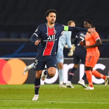 Marquinhos, zagueiro brasileiro e capitão do Paris Saint-Germain, foi um dos principais destaques do jogo, mesmo saindo lesionado após fazer o segundo gol do PSG, aos 29 minutos do primeiro tempo