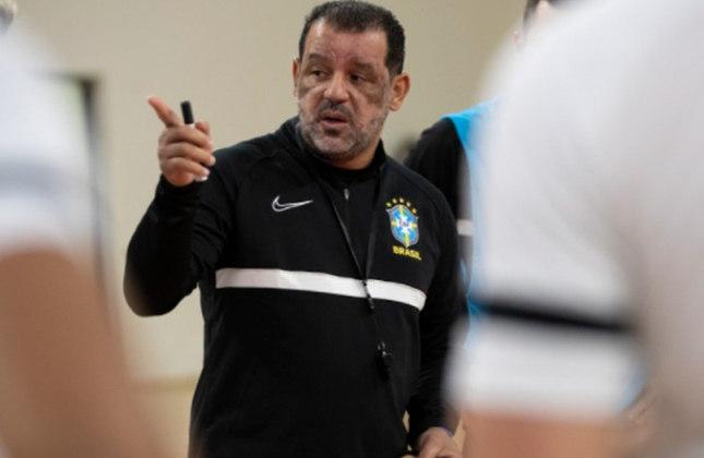 Marquinhos Xavier (Técnico) - Ex-jogador, o técnico do Brasil já foi indicado a melhor treinador do mundo em quatro oportunidades e assumiu a Seleção Brasileira em 2017.