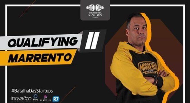 Marrento participou do Batalha das Startups (Foto: Divulgação)