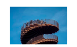 A Marsk Tower permite aos visitantes uma vista privilegiada do Parque Nacional do mar de Wadden