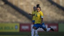 Marta brilha e seleção feminina goleia Argentina em amistoso