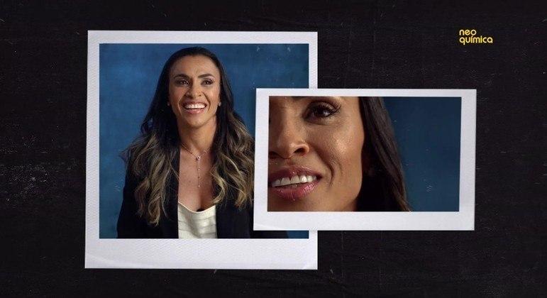 Jogadora Marta Silva é a atual embaixadora da Neo Química e estampa a nova campanha institucional da marca
