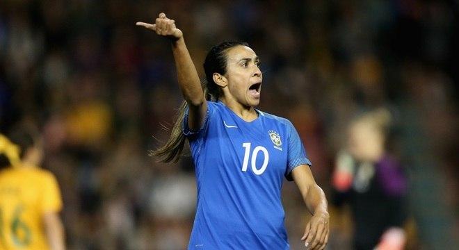 Marta foi eleita a melhor do mundo cinco vezes, e pode busca o sexto prêmio