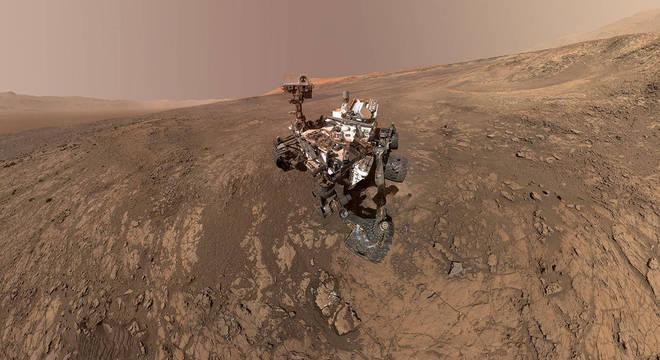 Pesquisas em Marte avançam com o uso de robôs desenvolvidos pela Nasa