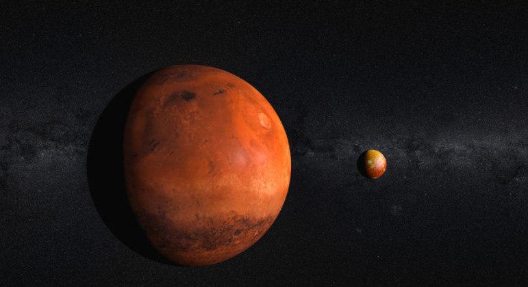 Rover ficará em órbita até maio, quando enfim tentará uma descida até a superfície