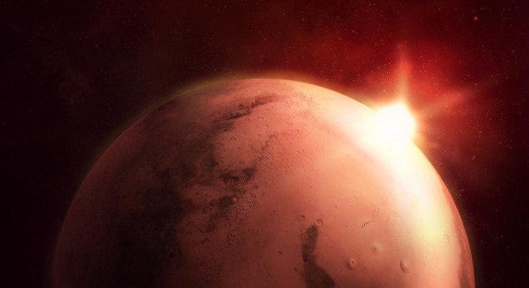 Marte pode estar sendo agora objeto de nova corrida espacial