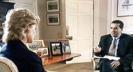 Jornalista mentiu para obter a entrevista. Segundo o príncipe William e seu irmão, o príncipe Harry, essa atitude influenciou a destruição da família