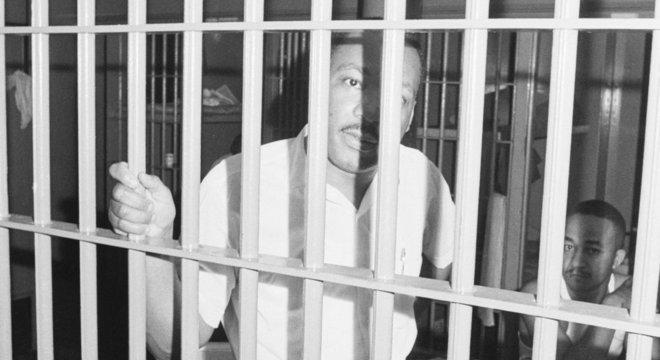 Martin Luther King Jr. foi preso em 11 de junho de 1964 em Saint Augustine