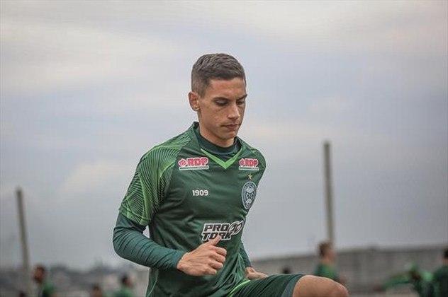 Martín Sarrafiore (meia - 23 anos - argentino) - Pertence ao Internacional e está emprestado ao Coritiba somente até 28/2 - Conquistou lugar como titular no Coxa