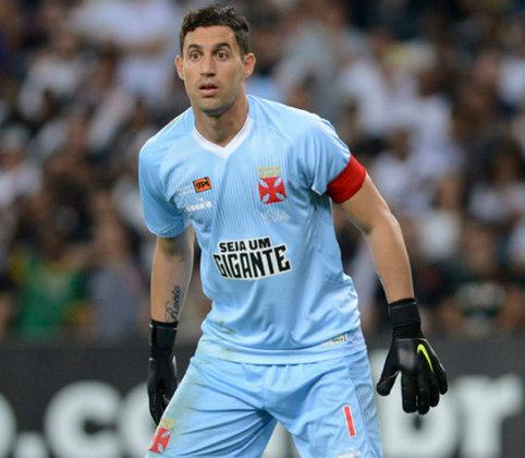 Martin Silva virou ídolo. Contratado após ano dramático da função no clube, reinou entre 2014 e 2018. Foram 242 partidas com a cruz de malta no peito.