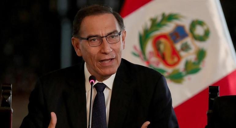 Martin Vizcarra, ex-presidente do Peru