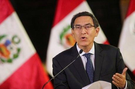 Martín Vizcarra anunciou aumento dos casos da covid-19