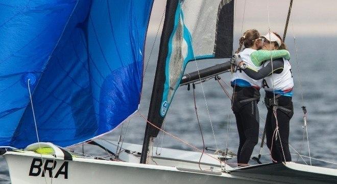 Campeãs olímpicas, Martine Grael e Kahena Kunze festejam ouro no Pan