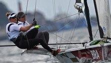 Martine e Kahena disputam última regata de olho no bi olímpico