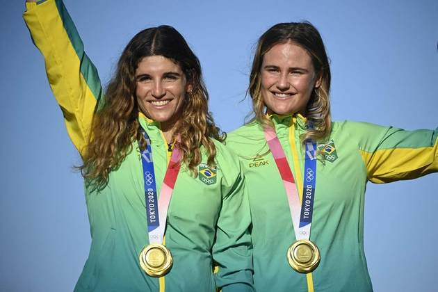 Martine Grael e Kahena Kunze: Campeãs olímpicas na Rio 2016 e Tóquio 2020, as velejadoras brasileiras têm tudo para chegarem em 2024 como favoritas ao tri