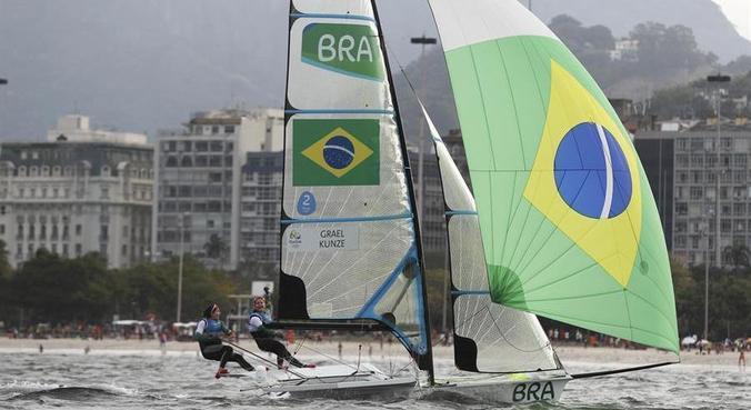 Martine e Kahena conquistaram ouro na Rio 2016 diante da torcida