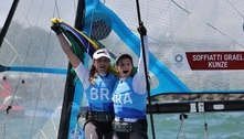 Martine e Kahena se tornam bicampeãs olímpicas na vela