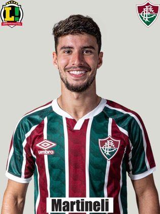 Martinelli - 4,5 - Não conseguiu contribuir para o Fluminense decidir o jogo.