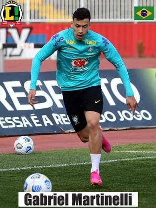 Martinelli - 7,0 - Assim como Reinier, entrou na segunda etapa para marcar um gol e virar o jogo para o Brasil.