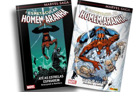 As duas primeiras edições de Marvel Sa ga