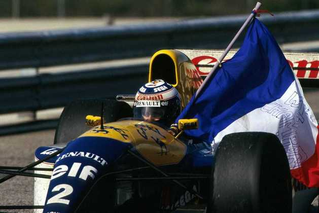 Mas a corrida é lembrada pelo tetracampeonato de Alain Prost, que anunciou aposentadoria ao fim daquele ano