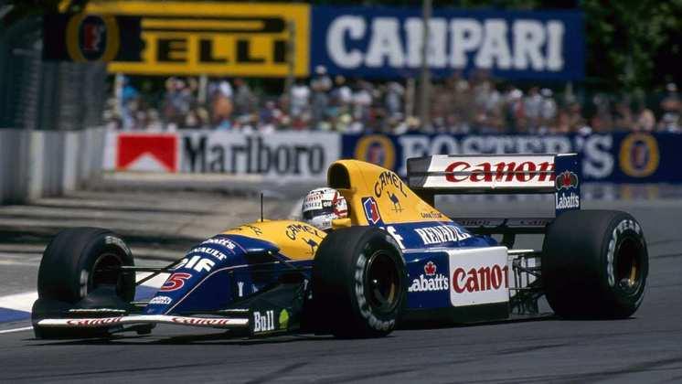 Mas em 1992, com o FW14B, a evolução do ano anterior, a Williams assombrou a F1. Foram 10 vitórias, sendo 9 de Mansell, com o