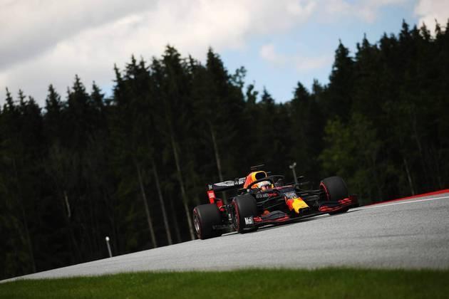 Mas Max Verstappen vai sair duas colocações à frente do colega Alexander Albon