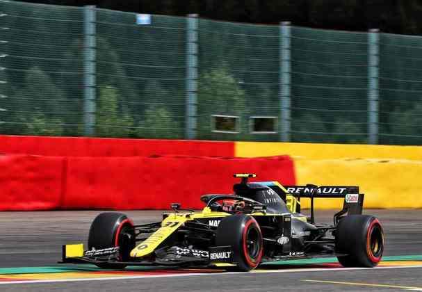 Mas nem só de Ricciardo vive a Renault: Esteban Ocon larga na sexta colocação (Foto: Renault)