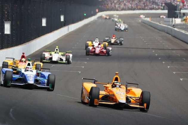 Mas perto do fim, o motor Honda o deixou na mão e o piloto precisou abandonar