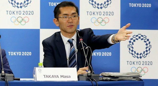 Masa Takaya, o porta-voz dos Jogos