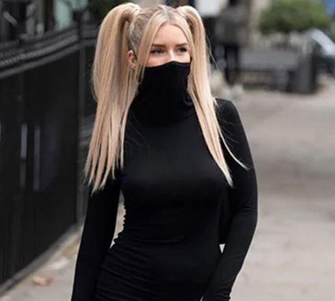 Máscara de golaSucesso nos e-commerces internacionais, a máscara embutida na gola da blusa também não é o melhor método de proteção contra a covid. Aqui, o problema também é a procedência do tecido