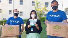 Hospital de São Carlos recebe doação de máscaras especiais