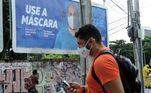 PE - CORONAVÍRUS/PERNMABUCO - GERAL - Desde do inicio do isolamento a máscara é o equipamento de proteção mais indicado pela a OMS, mas com o agravamento da contaminação pela convid-19, o uso de máscaras por todas as pessoas que precisem sair de casa passou a ser obrigatório em Pernambuco. 18/08/2020 - Foto: VEETMANO PREM/FOTOARENA/FOTOARENA/ESTADÃO CONTEÚDO