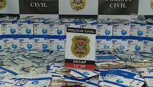 Dois são presos por comercializar máscaras falsas contra covid-19