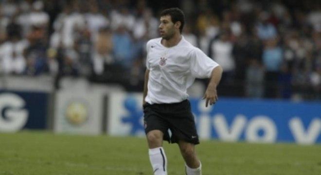 Masche em campo pelo Corinthians