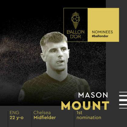 Mason Mount (inglês) - meia - Chelsea