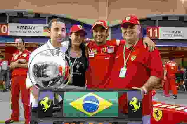 Massa conseguiu 11 triunfos usando as cores de Maranello