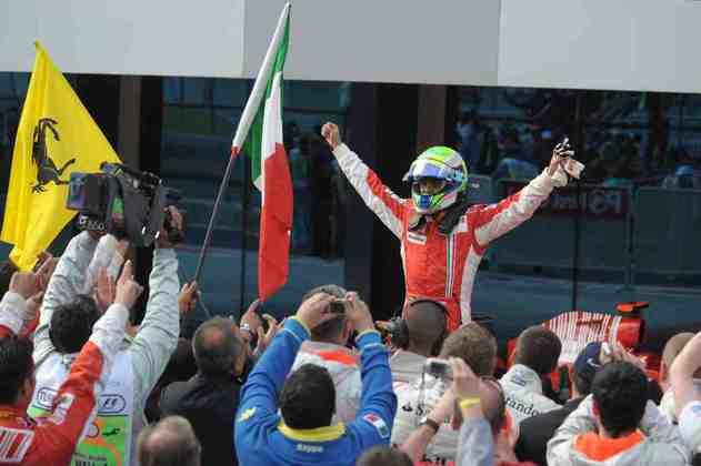 Massa conseguiu sair à frente após todas as paradas e triunfou pela sétima vez na Fórmula 1.