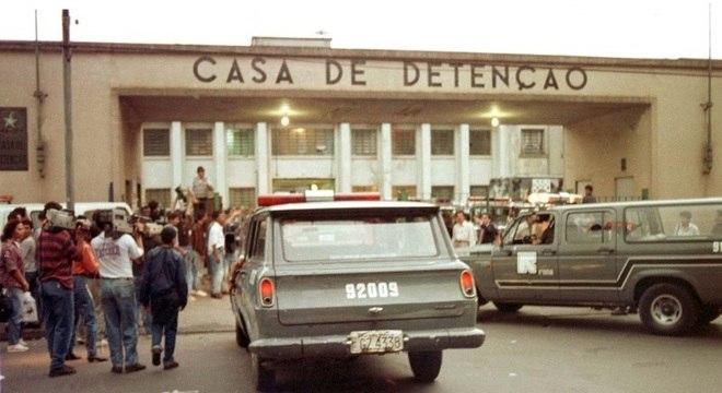 Massacre do Carandiru, em outubro de 1992