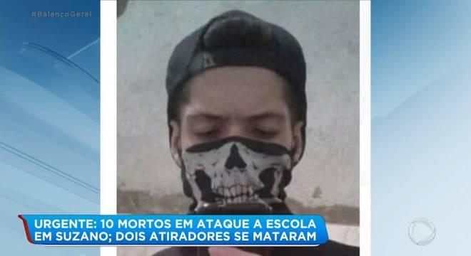 Na foto, o atirador que cometeu suicídio Guilherme Taucci Monteiro, de 17 anos