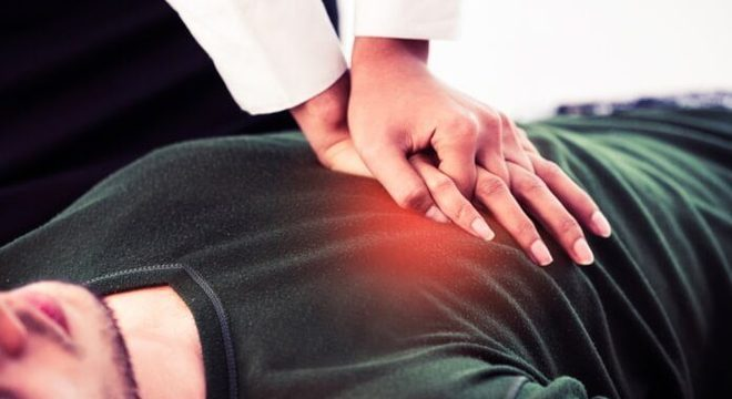 Massagem cardíaca