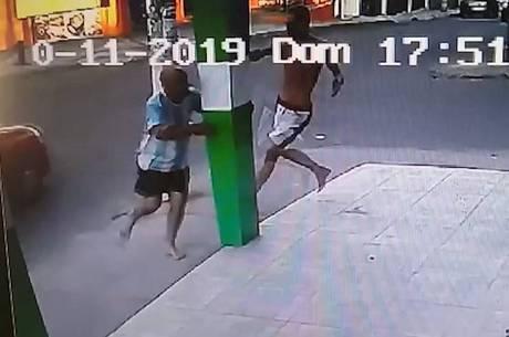 Circuito de segurança registrou o crime