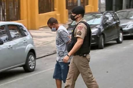Suspeito foi preso no Centro de Belo Horizonte