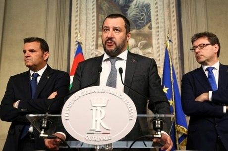 Matteo Salvini agradeceu Jair Bolsonaro